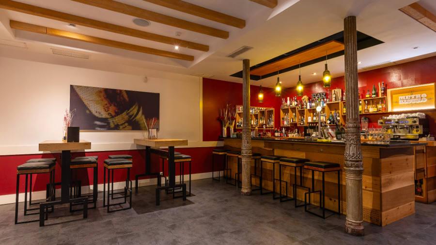 Imagen de un salón del Restaurante Metro Bistró Madrid Centro Plaza Mayor