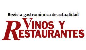 Logo de la revista gastronómica Vinos y Restaurantes. Restaurante Metro Bistró Madrid Centro Plaza Mayor